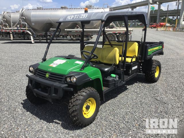 2014 John Deere Gator 855E DSL XUV 4x4 Utility Vehicle in