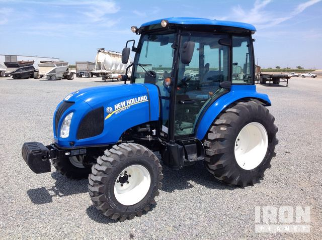 2016 New Holland Boomer 47 4WD Tractor in Tipton, California