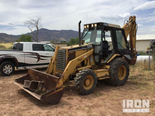 Cat 416B 4x4 Backhoe Loader