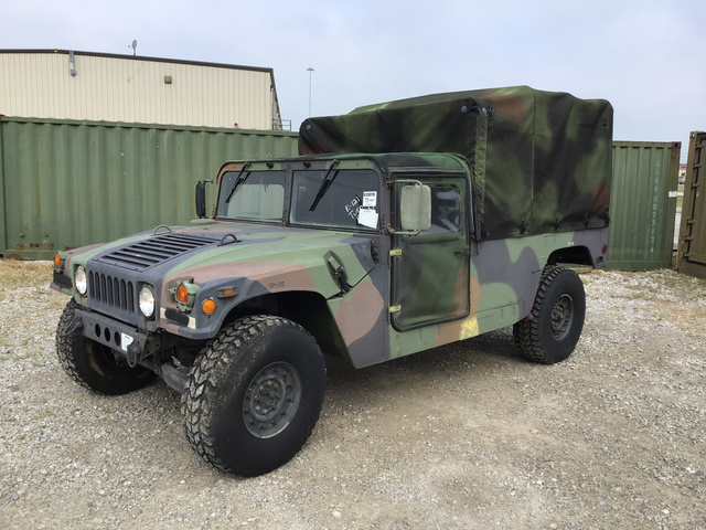 1989 AM General M998 HMMWV 2 Door Soft