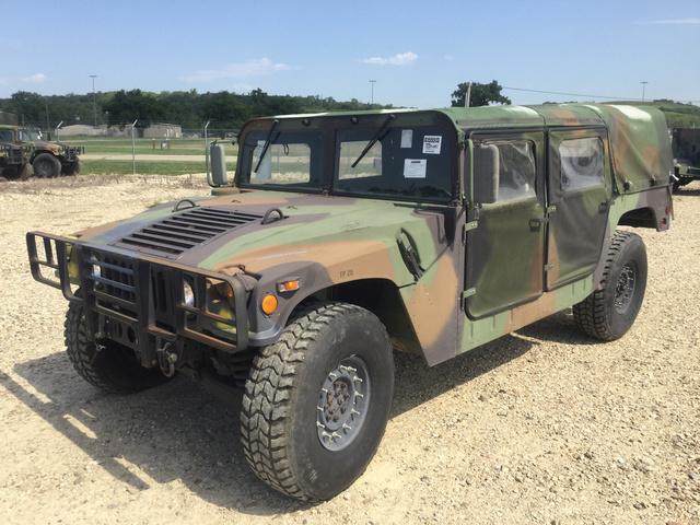 1990 AM General M998 HMMWV 4 Door Soft