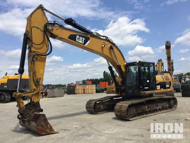 Caterpillar 329D L Hydraulic Excavator Specs & Dimensions