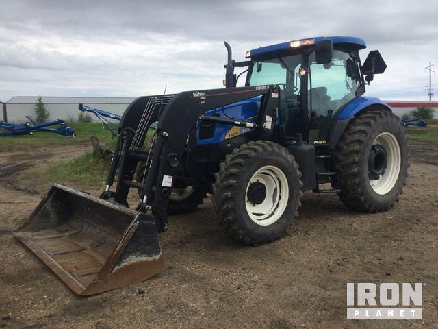 New Holland TN85DA 4WD Tractor Specs & Dimensions