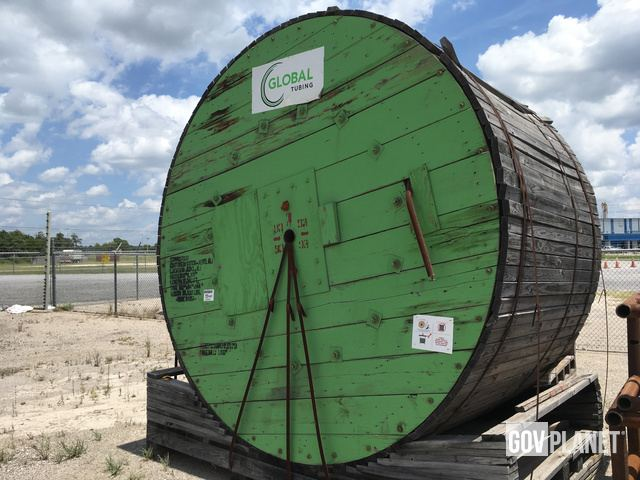Surplus Global GT-80 Grade Coiled Tubing in Humble, Texas
