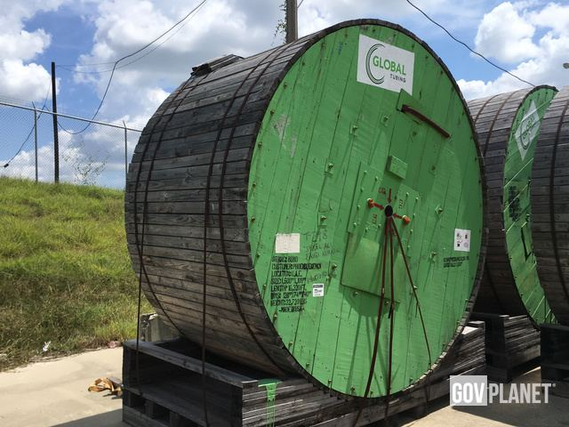 Surplus Global GT-80 Grade Coiled Tubing in Houston, Texas