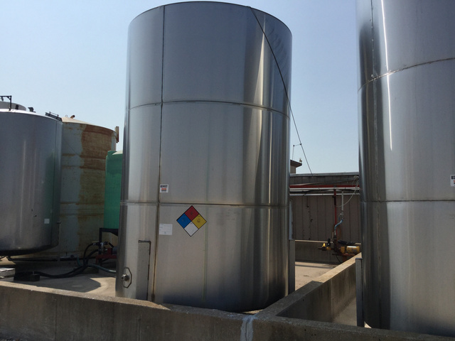 Precision Stainless Steel Tank