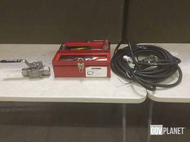 Surplus (3) Electric Drills, (7) Non-Powered Valves