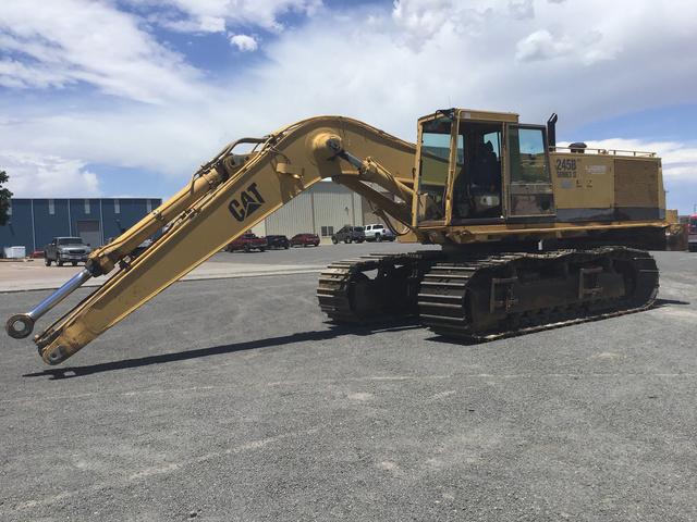 Cat 245B Series II Track Excavator