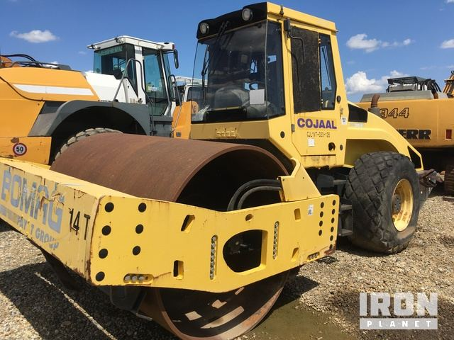 2007 Bomag BW219D-4 Vibratory Double Drum Roller, Roller
