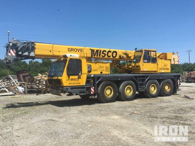 1996 Grove GMK4070 Hydraulic Truck Crane, Hydraulic Truck Crane