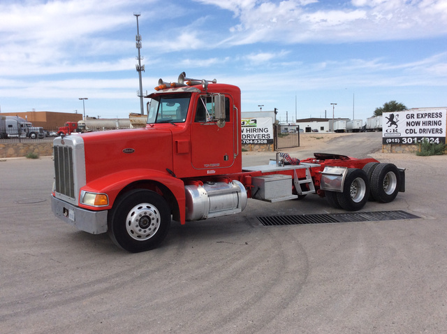 1993 Peterbilt 377 T/A Day Cab Truck Tractor