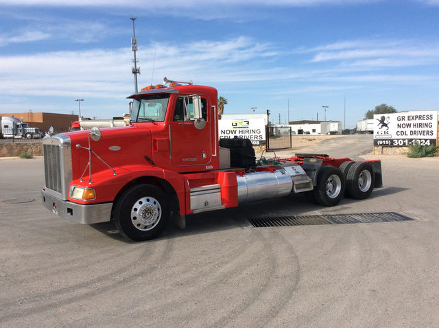 1996 Peterbilt 377 T/A Day Cab Truck Tractor