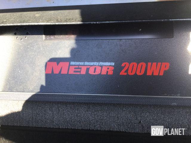 2 Rapiscan Metorex Metor 200WP Metal Detectors