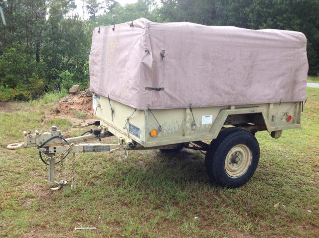 1990 Kasel M101A2 Cargo Trailer