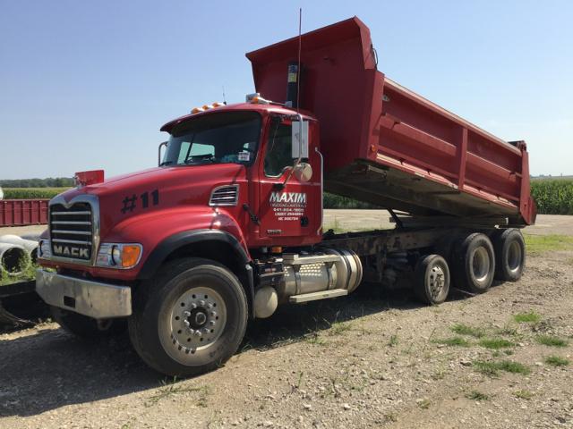 2006 Mack CV713 Tri/A Dump Truck