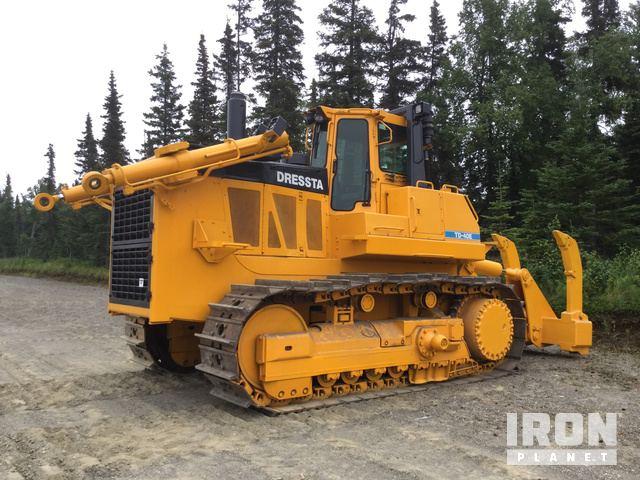 Dressta TD40E Crawler Tractor Specs & Dimensions :: RitchieSpecs
