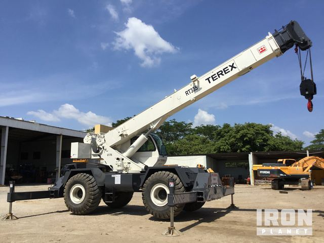 2007 (unverified) Terex RT335-1 Rough Terrain Crane in