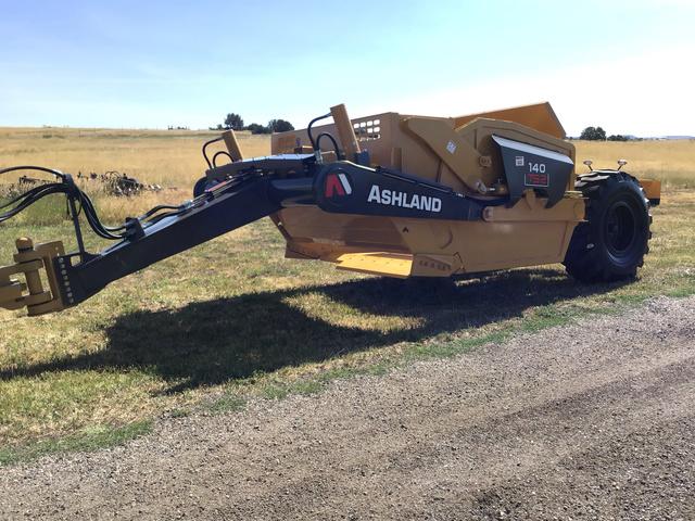 2017 Ashland 140TS2 Pull Scraper