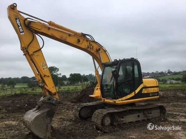 JCB JS130LC Hydraulic Excavator Specs & Dimensions :: RitchieSpecs