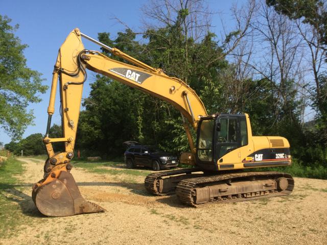 Cat 320CL Track Excavator