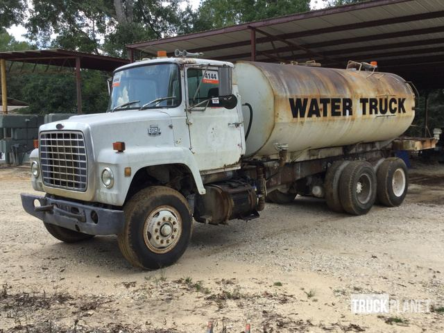 1986 Ford LNT8000 T/A Water Truck, Bogalusa, Louisiana ... Ford Lnt Wiring Schematic on