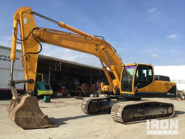2015 Hyundai Robex 330LC-9S Track Excavator, Hydraulic Excavator