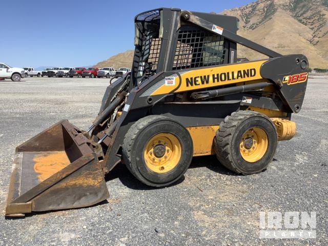 New Holland L185 Skid Steer Loader Specs & Dimensions