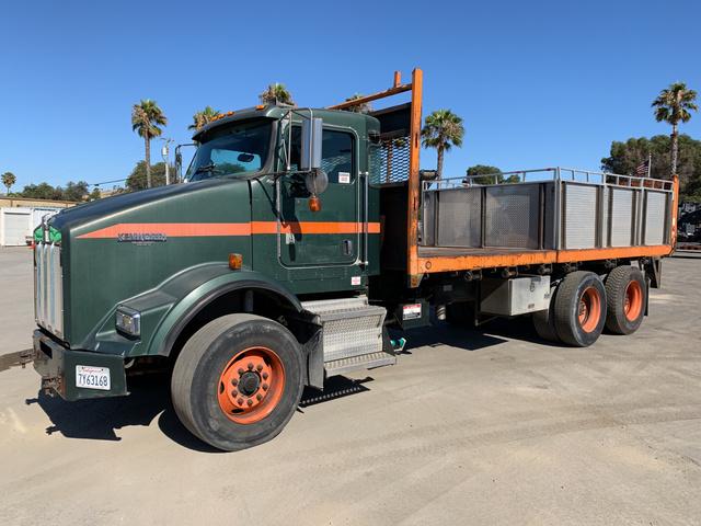 Used Dump Trucks >> 2006 Kenworth T800 Flatbed Dump Truck