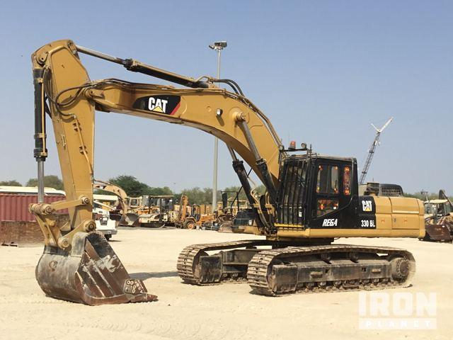 Caterpillar 330B L Hydraulic Excavator Specs & Dimensions
