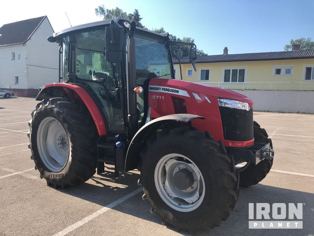 2018 Massey Ferguson 5711 4WD Tractor - Unused in Judenau