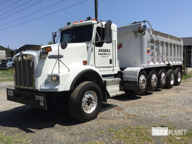 2006 Kenworth T800 Five Axle Dump Truck In Newport News