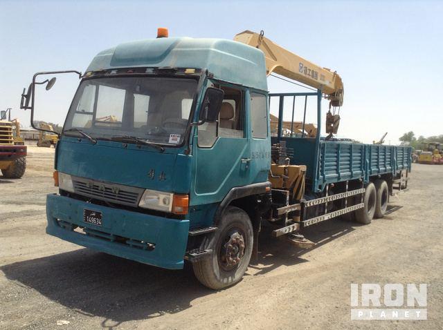 FAW 6x4 Straight Boom Truck