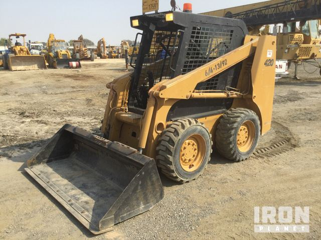 2005 Case 420 Skid-Steer Loader, Skid Steer Loader