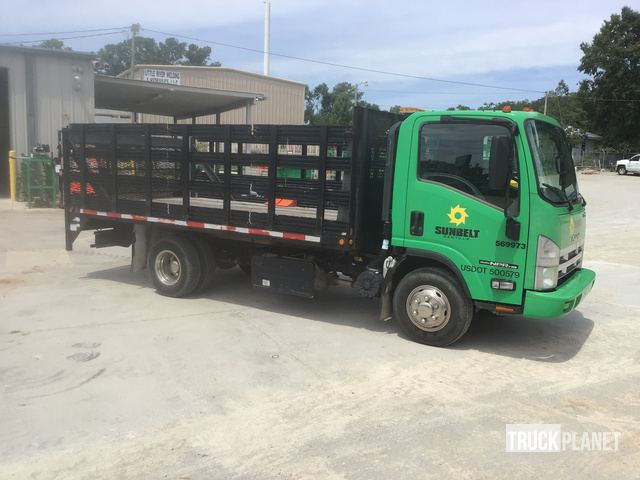 2014 Isuzu NPR S/A Flatbed Truck in Little River, South