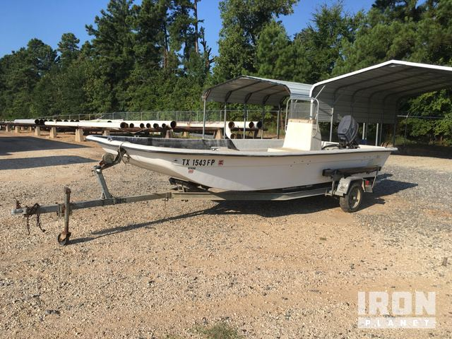 1990 Carolina Skiff 19 Center Console Boat W Mcclain S A