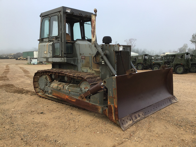 Case 1550 Crawler Dozer