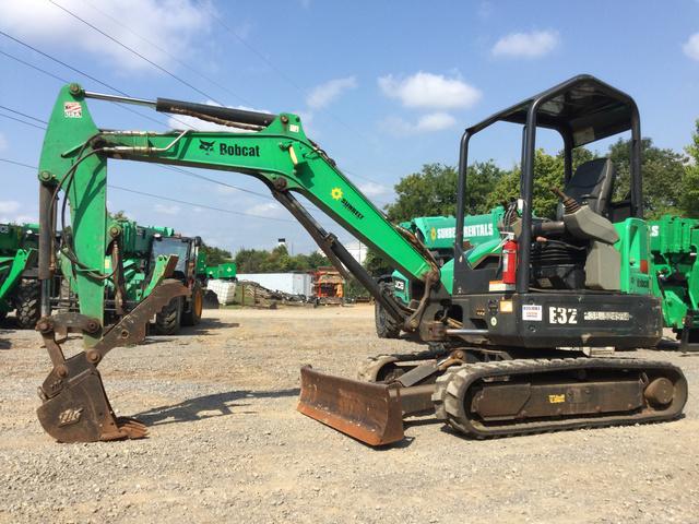 2013 Bobcat E32M Mini Excavator