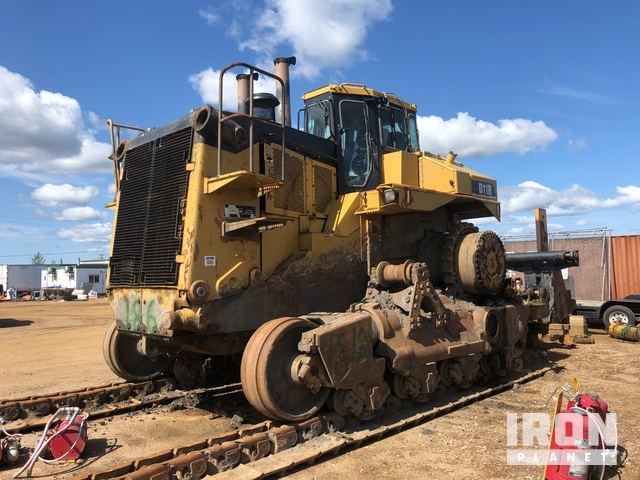 Caterpillar D11R Crawler Tractor Specs & Dimensions