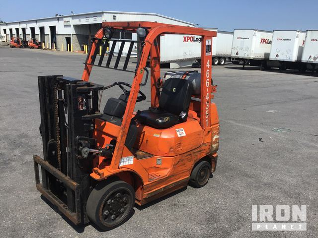 Toyota 7FGCU25 Forklift Specs & Dimensions :: RitchieSpecs