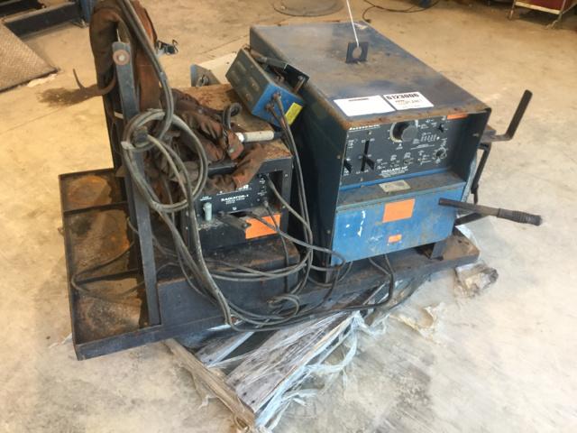 Miller Dialarc TIG HF Electric Welder
