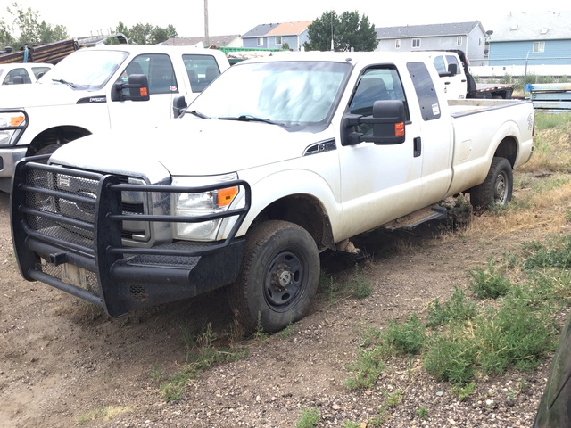2011 Ford F-250 Super Duty 4x4 Extended
