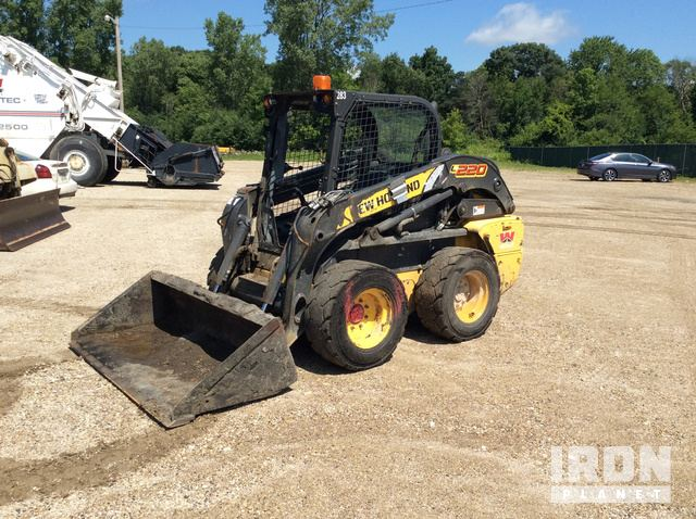 New Holland LS185 B Skid Steer Loader Specs & Dimensions