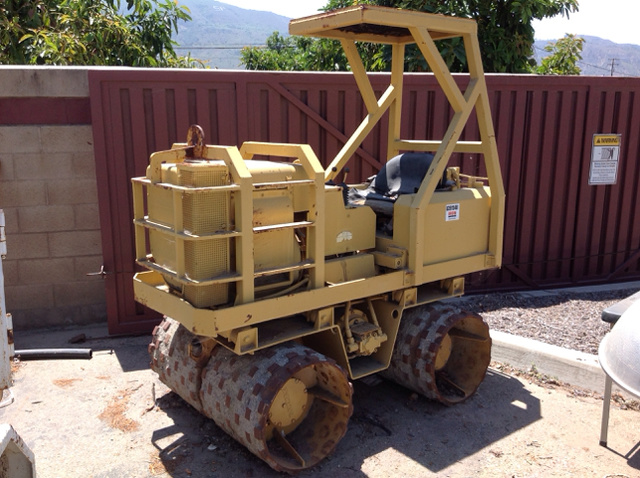 Rammax P47 Trench Compactor