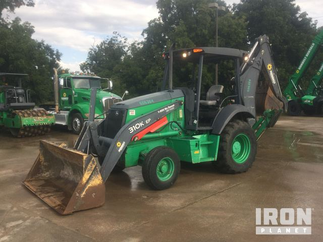 2014 (unverified) John Deere 310EK Backhoe Loader, Loader Backhoe