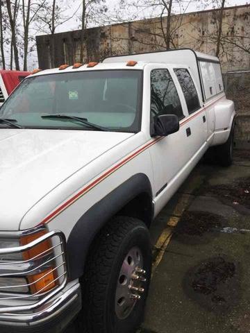 1998 Chevrolet 3500 4x4 Crew Cab Pickup