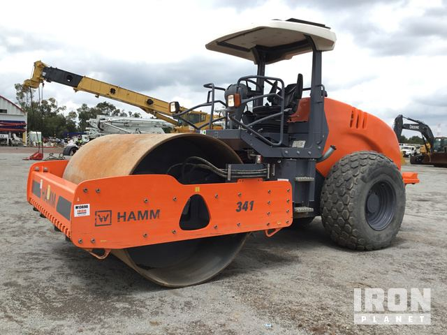 2018 Hamm 3411 Vibratory Single Drum Compactor, Vibratory Padfoot Compactor