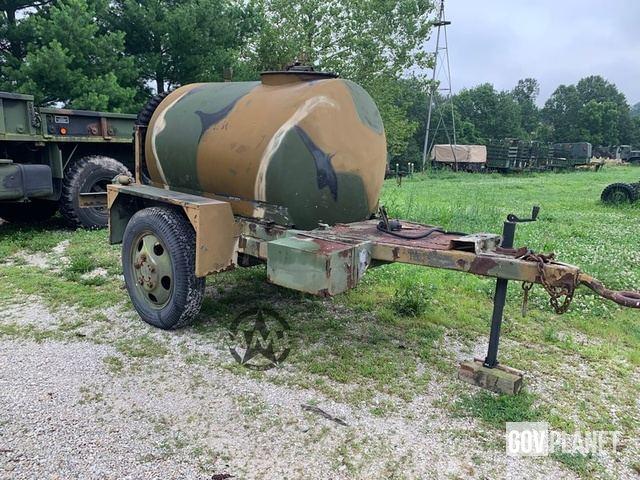 Military 400 Gallon PORTABLE WATER TANK TRAILER