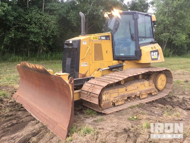 Caterpillar D6K LGP Crawler Tractor Specs & Dimensions