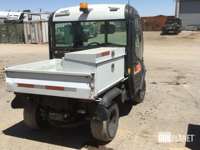Surplus Kubota RTV1100 4x4 Utility Vehicle in Yermo