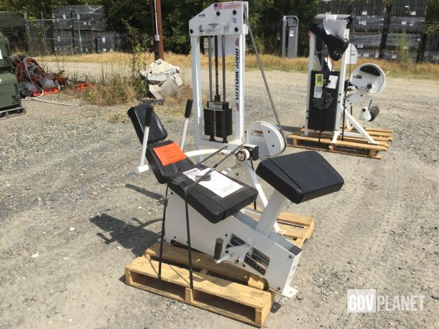 Body Masters MD 221A Abdominal Crunch Machine